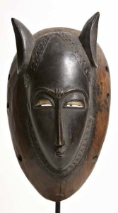 Guro Mask image courtesy the artist and Gallery Jatad