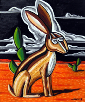 Davis Jack Rabbit image courtesy the artist and William Reaves Fine Art