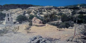 Gabriel Cinnabar Threads I (Terlingua) image courtesy the artist and William Reaves Fine Art