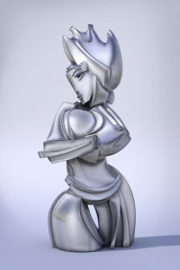 Gil Bruvel Queen image courtesy the artist and Laura Rathe Fine Art