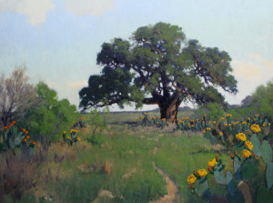 Noe Perez Quiet Afternoon image courtesy the artist and William Reaves Fine Art